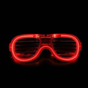JLB76 Modes Shape LED Flashing Glasses Light up Christmas Party Supplies Decoration glowing glasses