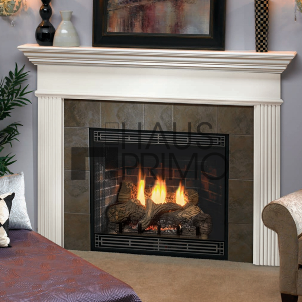 Mdf Fire Surrounds: Hongjin Customized Fsc White Mdf Fireplace Mantel Surround
