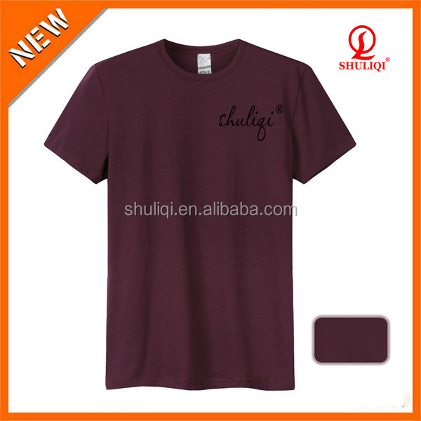 Bulk Blank Good Quality Round Neck T Shirt Made In China