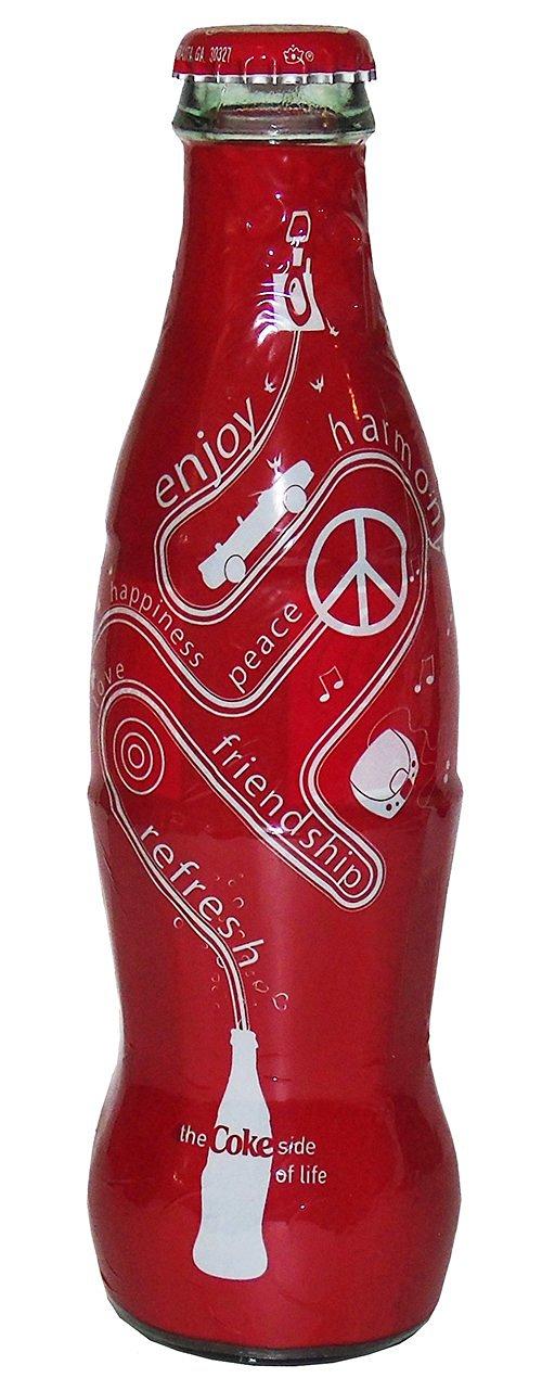 Style My Coke - Coke Side of Life (Red) Coca-Cola Bottle (1)