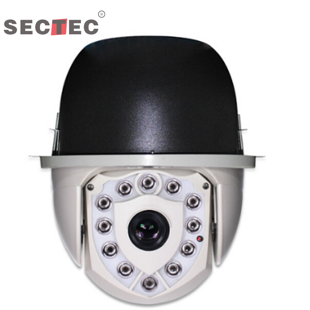 Embedded Power recovery function 1.3 MP IP IR HD Speed Dome Camera