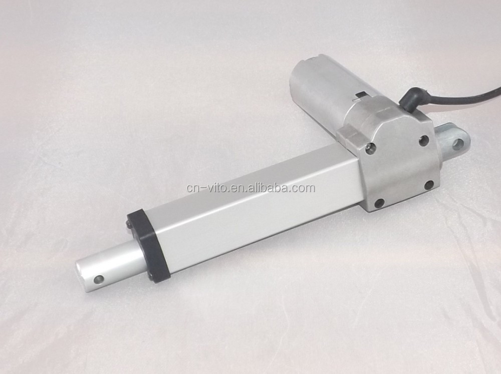 linear actuator for electric automatic gate opener