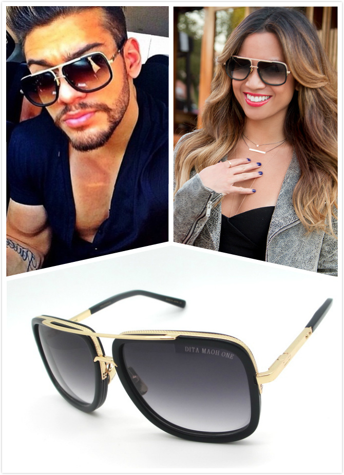 9fbdaf256fd Dita Sunglasses Men Summer Style DITA Sunglasses Women Oculos De Sol ...