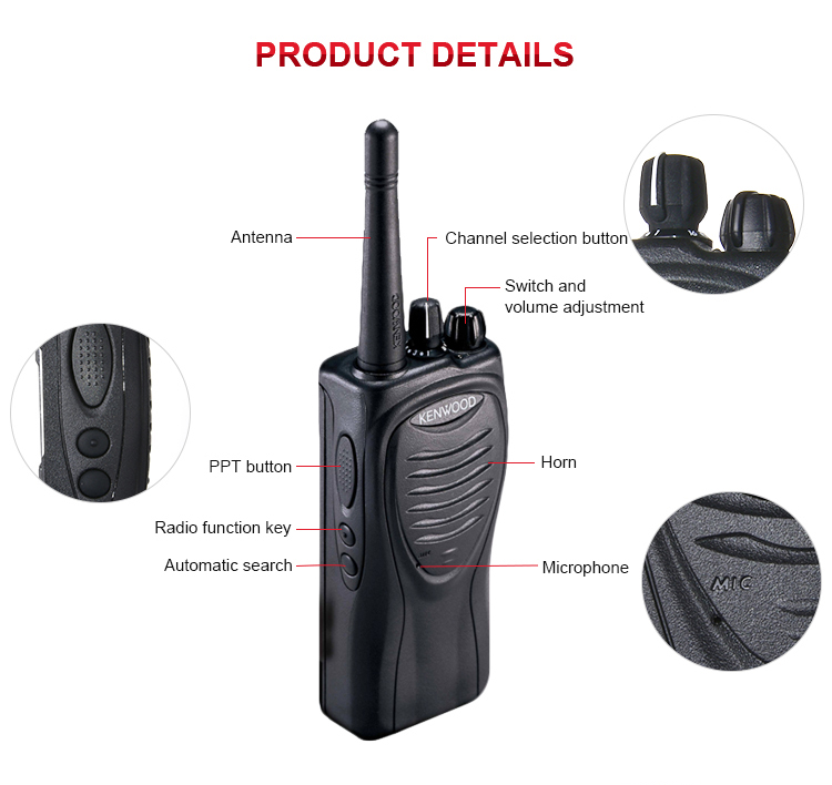 Amazon 2019 top seller cheap price tk-3207 dmr military two way radio long range security guard equipment walkie talkie