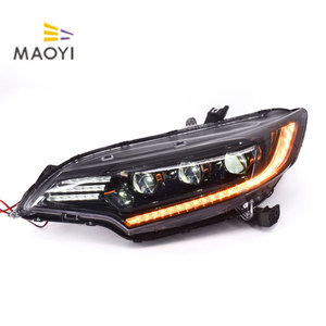 For Honda Fit III 12V LED Headlight For head light with DRL and fog light
