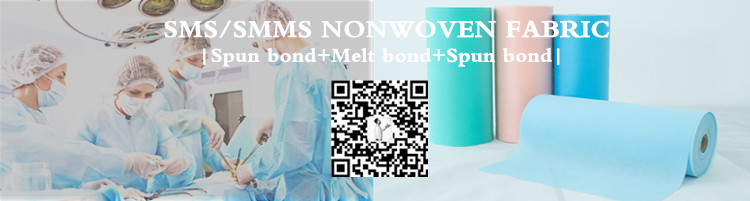 Disposable Baby Diaper Raw Material Spunbond Hydrophilic Smms Nonwoven,Tela Sms,Sms Nonwoven Cloth