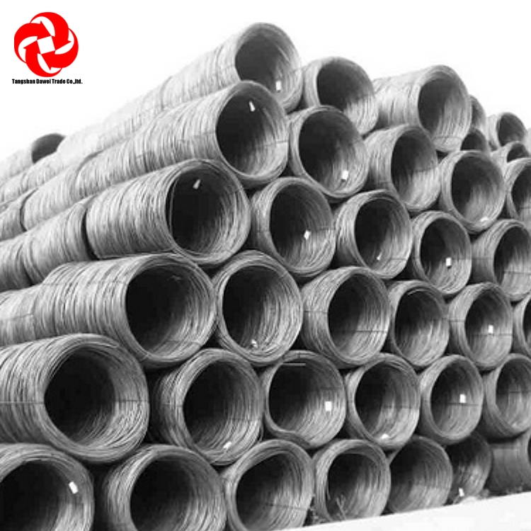 hot rolled Oil hardened and tempered spring steel wire rods