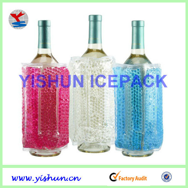 PVC ice bag storage freezer for wine