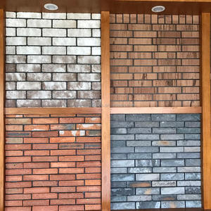 Face Brick Outside or Inside Usage Wall Brick