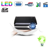china supplier mini portable home theater projector, support tv