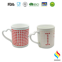 China Manufacturer Custom LOGO White Porcelain 11OZ Cups/Ceramic Mugs