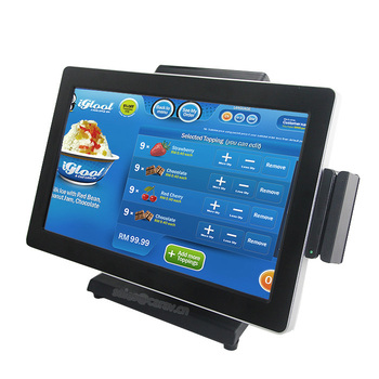 Geesung New 15.6 Inch Pos All In One Touchscreen Android Pos Terminal With 3G Function