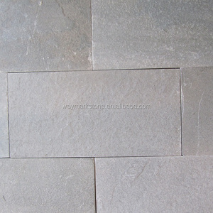 Cheap outdoor gray natural slate flooring stone tiles and paving stone WT13