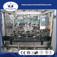 QS series rotary Automatic glass bottle rinser developed combining the condition of our country
