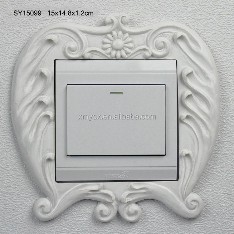 Living room wall decoration resin switch safety cover