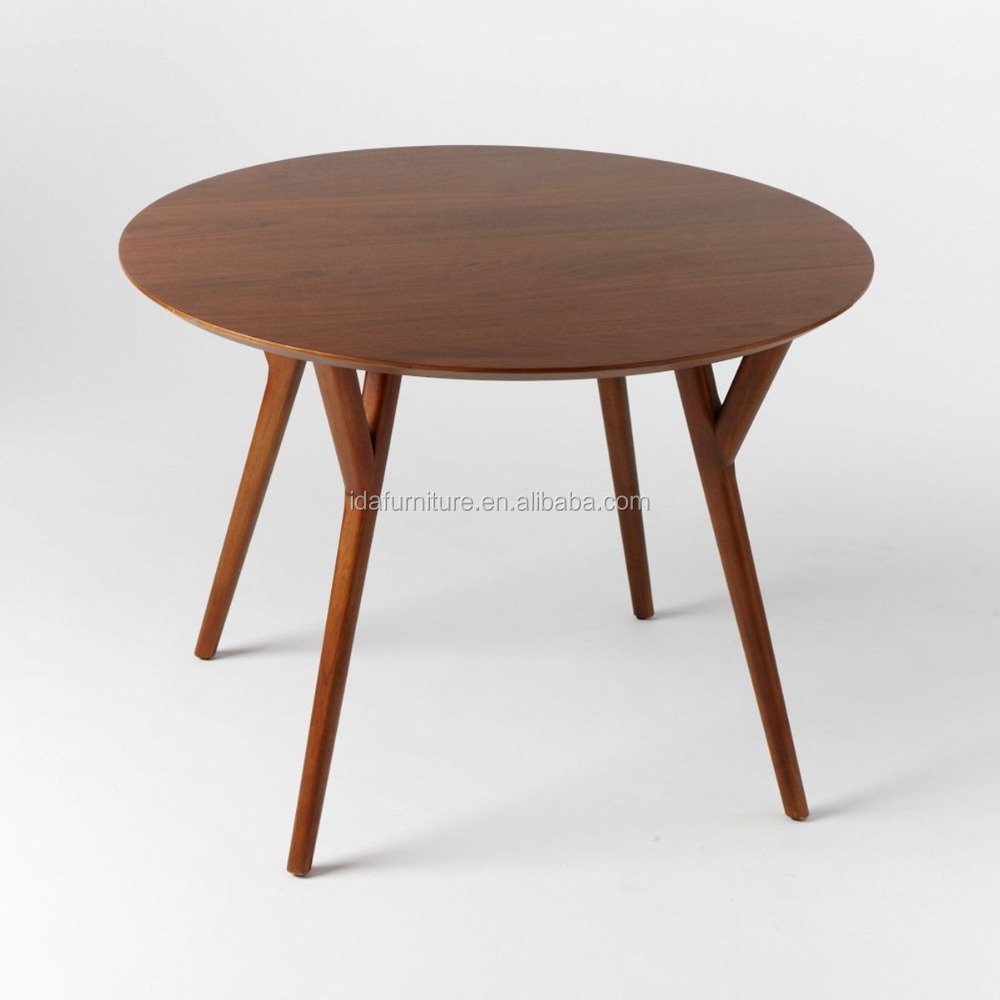 American ash wood mid century round dining table buy mid century round dining tablemodern dining tableswooden round table product on alibaba com