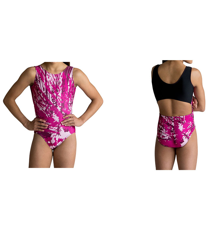 New Design Rhythmic Girls Spandex High Stretch Competition Gymnastics Leotard Fabric For Kids