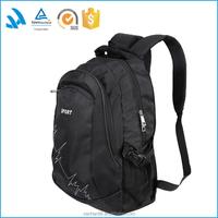 Best selling jacquard 600D back pack, unisex custom waterproof backpack