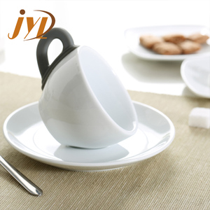 Wedding and hotel ceramic bulk china tea cups and saucers