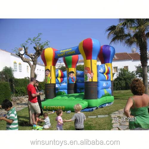 Commercial Inflatable Balloon Flight bouncing castle,bouncy castle,jumping castle