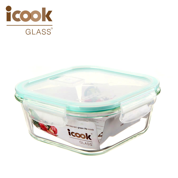 Microwave Safe Lunch Box With BPA Free Plastic Lid For School Kids