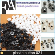 10mm half ball gold button ABS plastic plated button 1000 pcs/lot free sample