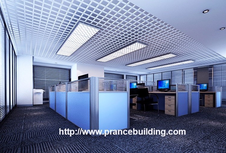 SGS Decorative Metal Suspended Open Ceiling Design
