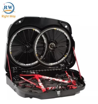 Chinese factory supply ABS road mountain bicycle travel box bike transport case