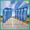 Factory direct free design teardrop banner