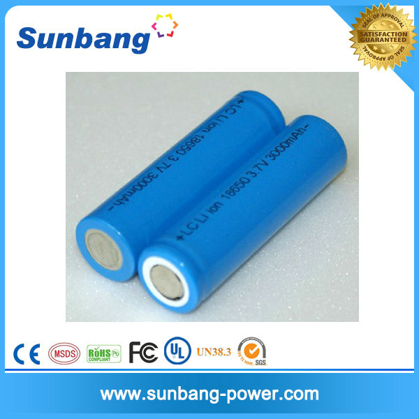 Factory Directly Selling 18650 Battery 3.7v 3000mah Lithium Ion ...