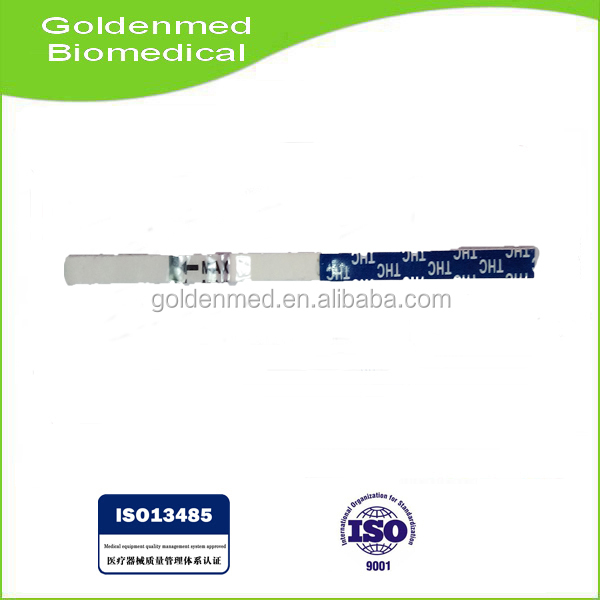 OEM Service !! Drug Abuse Rapid Test kit / THC Marijuana Rapid Test Strip