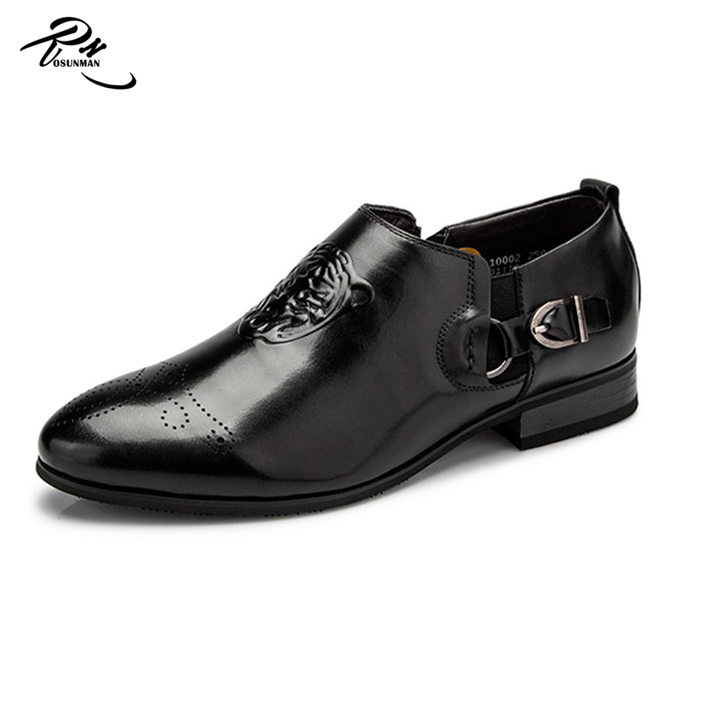 Special design monk strap on side custom men dress slip on loafers shoes manufacturers design in Bangladesh