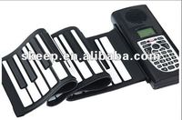 2012 hot selling 37 keys hand rolling up piano for promotion