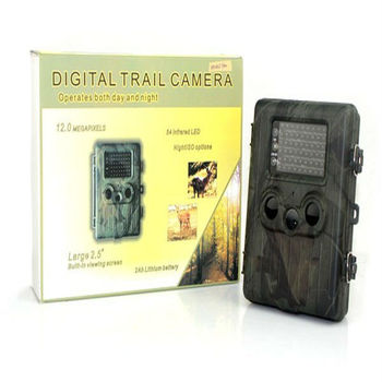 "Hot 2.5"" LCD Scouting Camera With Trail Hunting Camcorder 54 Infrared LEDs 12MP"