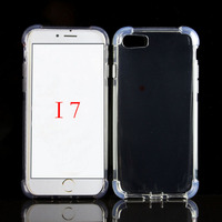 For iphone 7 case TPU transparent Phone cover For iphone7 soft gel case