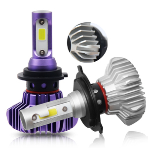 12000 Lumen Cob H4 Led Bulb H7 Auto H7 H11 H4 Led Car Led Headlight Bulb
