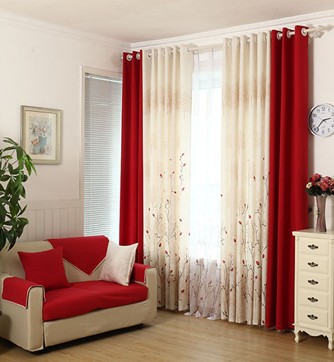 Curtains Designs For Living Room: Aliexpress.com : Buy Living Room Curtain Bedroom Curtain