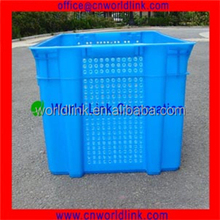 2016 Popular Plastic PE Mesh Fruit Vented Box with Low Price