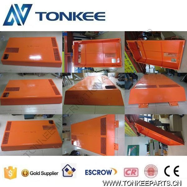EX200-1 excavator bonnet panel, EX200-1 engine hood insulation cover, EX200-1 engine cover for HITACHI