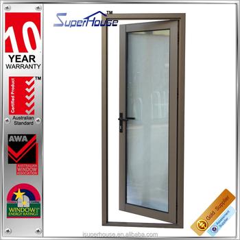 Australischen Normen Aluminium Doppelt Verglaste Schalldicht Isolierglas  Innentür Französisch Tür