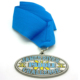 Sports medal custom antique silver challenge paddle medals wholesale