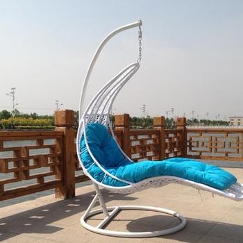 Outdoor Furniture Freestanding Chair Garden Hanging Reclining Swing