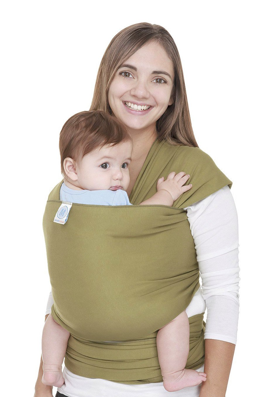 f6ff59a0baf Get Quotations · Moby Wrap Original 100% Cotton Baby Carrier