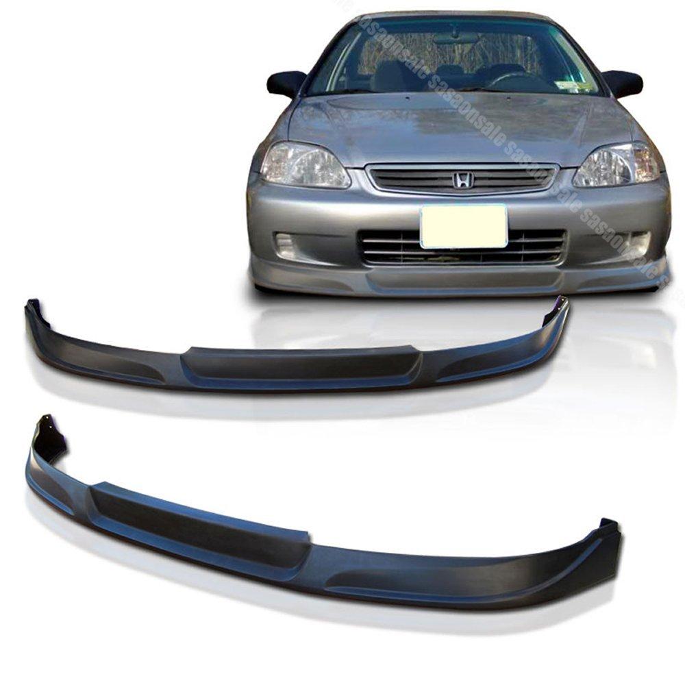 NEW - 1999-2000 HONDA CIVIC Coupe Sedan Hatchback TC Style Front PU Bumper Lip