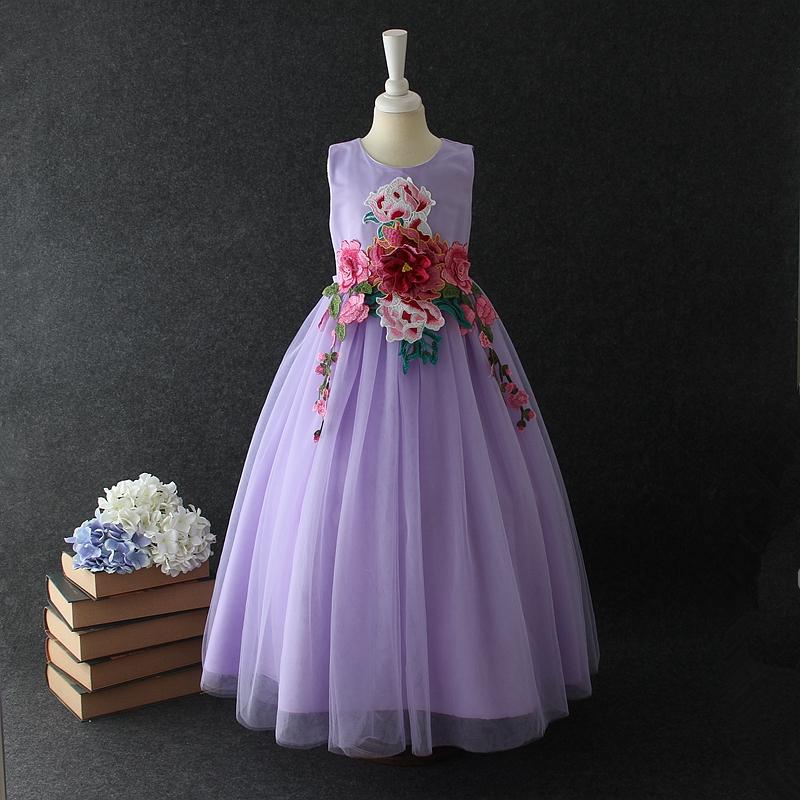 Venta al por mayor vestidos para bebés bordado-Compre online los ...