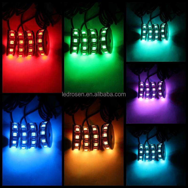 4pcs blue 5050 led led strip kit motorcycle lights led modules 4pcs blue 5050 led led strip kit motorcycle lights led modules aloadofball Choice Image