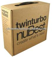 Cardboard suitcase boxes with handle