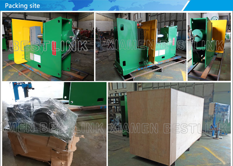 packing site for hydraulic splitting machine.jpg