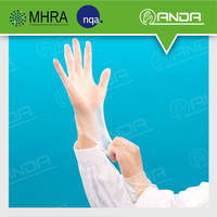 AD004 Surgical Supplies medical examination high quality vinyl gloves