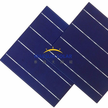High Efficiency 156*156 Poly or Mono Crystalline Solar Cells for sale